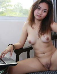 Young Asian girl pays for next semesters tuition by stripping on home cam