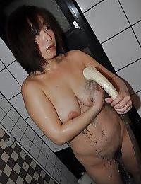 Fuckable oriental placid lady with saggy scones Yumi Ohno voluptuous bathroom