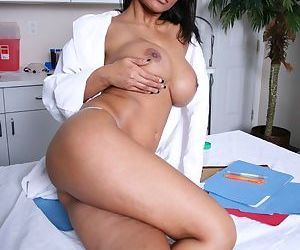Indian MILF Priya Anjeli Rai is stripping to show her slutty pussy