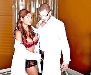 Hot Indian MILF Priya Anjeli Rai with big tits has sex in uniform