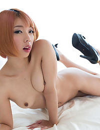 Insignificant titted Japanese angels explore always others bodies with hands and tongues