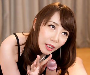 Have planned Japanese female jerks off a bushwa after a hardly ever panty upskirt