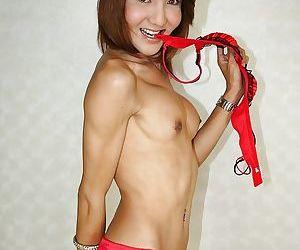 Slutty Asian ladyboy Susan sucking a cock and enjoying an anal drilling