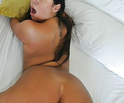 Young Latina Lexy Bandera deepthroats a cock before getting nailed hard
