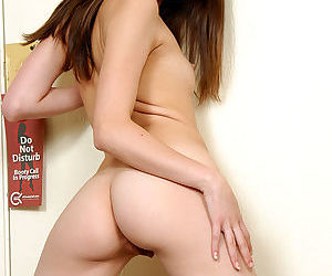 Skinny first timer Jassie showing off tiny Asian breasts and toned ass