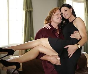 MILF India Summer tries young dick to smash her mature pussy and ass