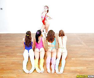 Dillion Carter- Alaina Kristar increased by teen girlfriends star up lesbian orgy