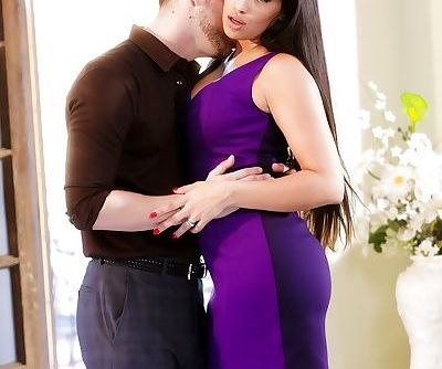 Sexy slut Mercedes Carrera showing huge breasts in hot reality seduction