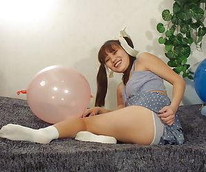 Nasty thai floosie flashing her nice titties and sexy panties