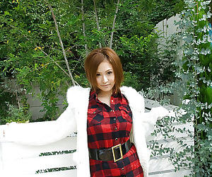 Sweet asian babe Yui Aoyama inchmeal discovery say no to sensuous curves