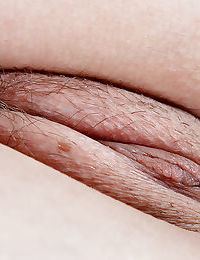 Amateur hottie Caitlyn J removes blouse and skirt for hairy pussy spreading