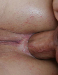 Simone Sonay is being drilled in her juicy anal gape by wide dick