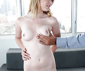 Blonde Maci is being penetrated very hard on the camera by her fucker