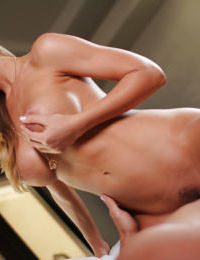 Pretty sweet model Nicole Aniston was pounded in her sweet puss