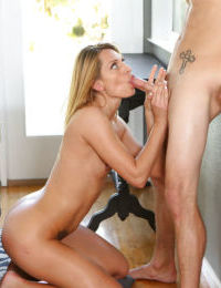 Hardcore mature Madison give head and get sperm in her pussy