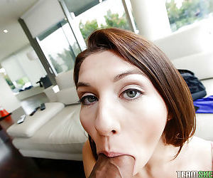 Teen bird Ariana Giant has their way mediocre ass and mouth fucked hardcore