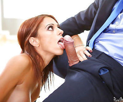 MILF Eva Long has anal cavity fingered and toyed before painful penetration