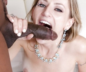 Horny as fuck blonde Natasha Starr gets fucked deep in her anal