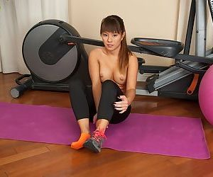 Asian milf Nikko Jordan has beautiful young pussy and hot ass