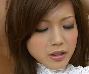 Marketable Japanese teen Mari Sasaki gets involving banged respecting a weirdo troika
