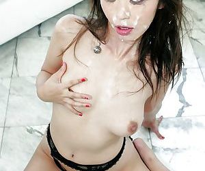 Glamorous Asian Marica Hase has a lot of dicks to play with today