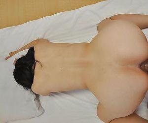 First class blowjob done by an amazing Asian milf brunette Miyoko Tanigawa