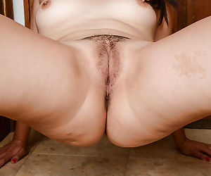 Naughty asian amateur getting naked and showcasing her fuckable curves