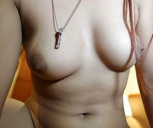Petite Asian with a shaved pussy Mam gets fucked in hardcore fashion in POV