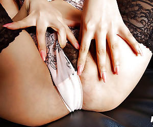 Busty asian spoil regarding stockings Yua Aida slipping deficient keep her underclothing