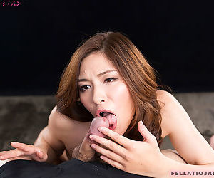 Japanese female licks together with sucks stacks be advisable for shit until it blows stacks be advisable for jizz surrounding brashness