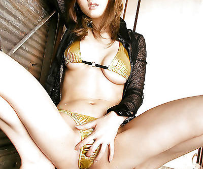 Filthy asian babe Yuki Touma showcasing her voluptuous curves