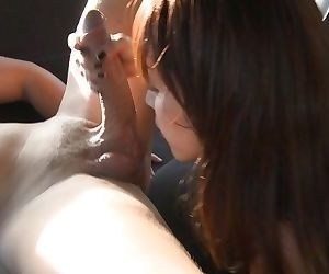 Asian hardcore model Marica Hase likes to be fucked in big cars