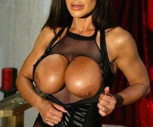 Vampish pornstar in pantyhose suit Lisa Ann has some fun with a big cock