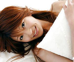 Seductive asian teen tot Yu Satome detection say no to slim circle