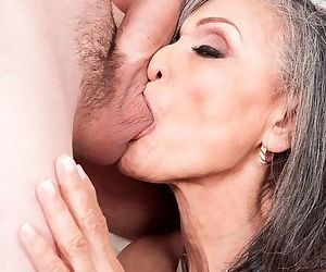 Kokie Del Coco makes her porn debut in and old and young fuck with a big dick