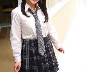 Horny Asian schoolgirl sucks and fucks a teachers fat dick in the classroom