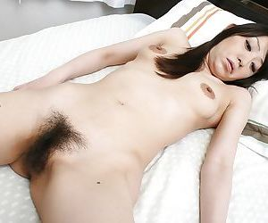 Naked asian chick demonstrating her fringy at great cost jiggle more tavern