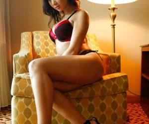 Asian beauty Katsuni is masturbating her tasty Japanese vagina