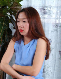 Undressing scene features amateur Asian Heidi Ho and her basketball