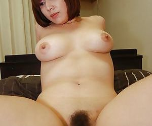 Asian cutie gives a blowjob with ball licking and enjoys sensual fucking