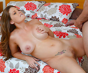 Allison Moore being a good and hot MILF gives a fantastic blowjob