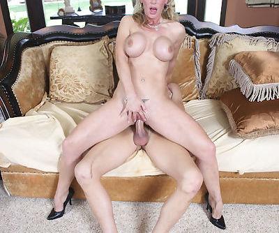 See deepthroat blowjob from reality big tits milf Tanya Tate