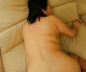 Small dick is fucking face of this hot Asian beauty Tamaki Shimai
