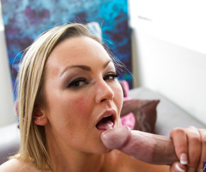 Clothed reality milf Abbey Brooks is having an hardcore affair