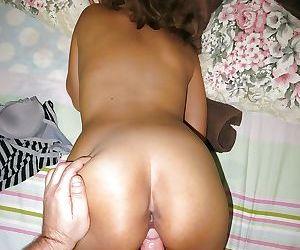 Busty Thailand hooker taking bareback Farang cock in trimmed twat