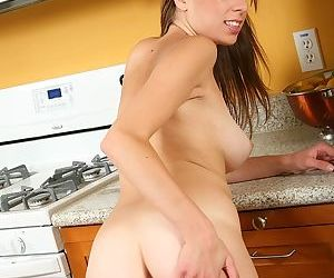Barely legal cutie Alyssa Hall baring nice set of young girl breasts