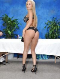 Perfect boobs and ass of teen blonde babe Mariah will turn you on