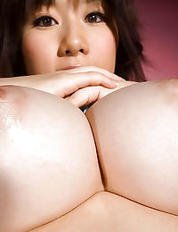 Curvy asian babe with hairy poon Hanano Nono slipping off her lingerie