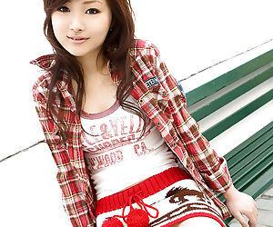 Asian teen baby Suzuka Ishikawa unearthing will not hear of petite tits and X nuisance