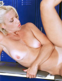 Fit mature lady Lavita gets butt fucked compliments of much younger trainer
